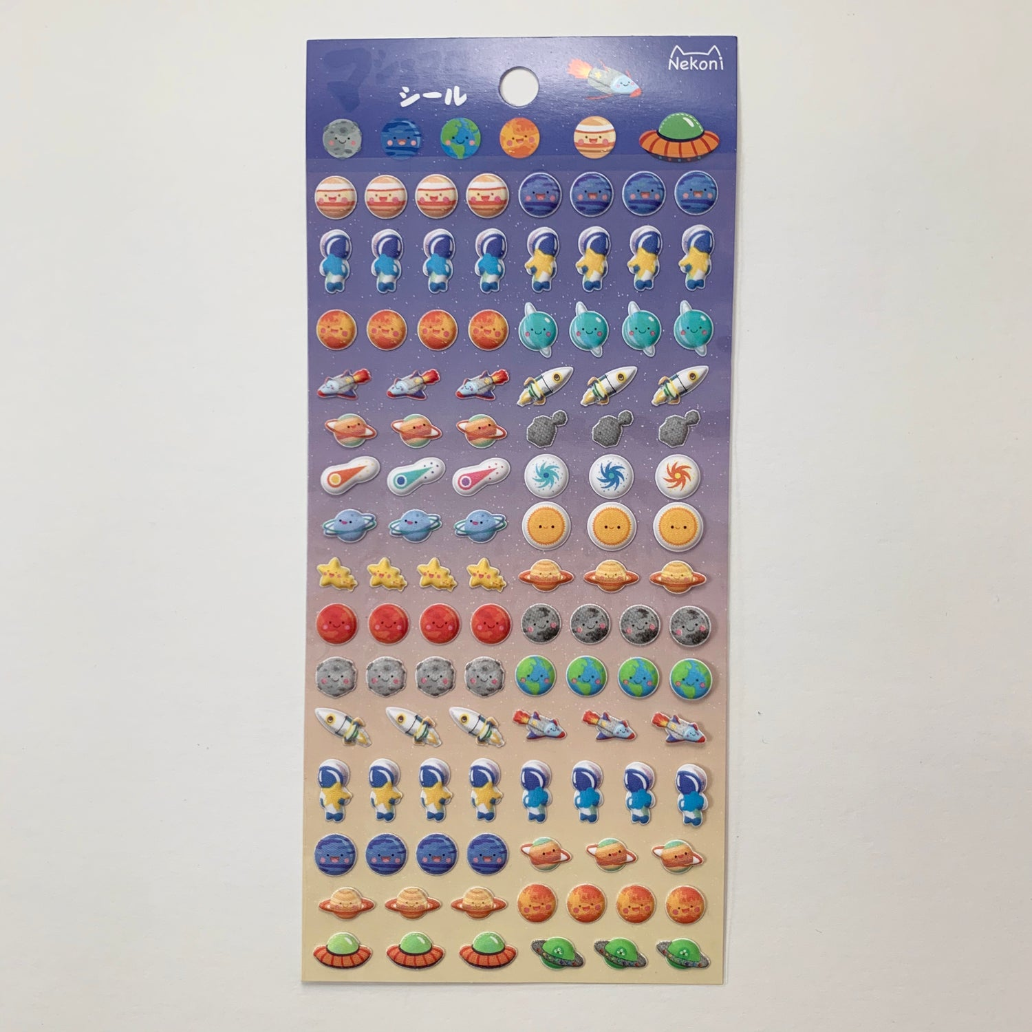 Image of Mini Space Puffy Stickers