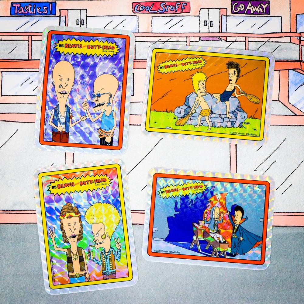 Image of Beavis and Butt-Head - Prismatic Sticker Set 01