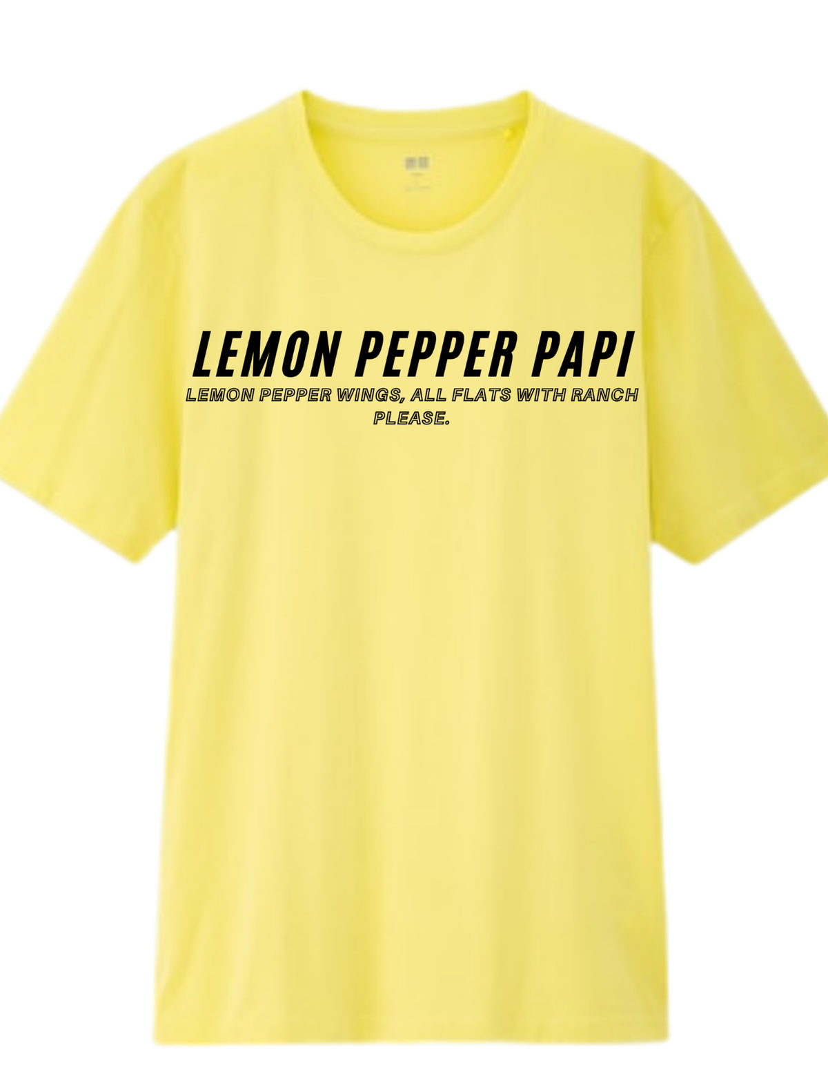 Lemon Pepper Papi T-Shirt  Mens