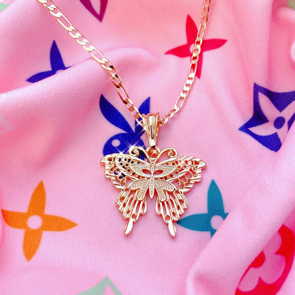"""Image of """"Brave Enough To Fly"""" Necklace"""
