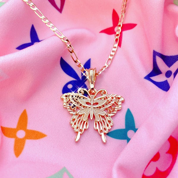 "Image of ""Brave Enough To Fly"" Necklace"