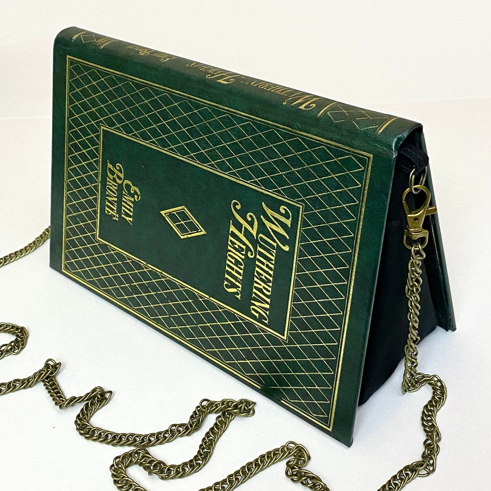 Image of Wuthering Heights Book Purse, Emily Bronte, Diamond