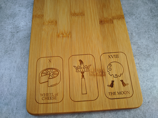 Image of Tarot Card Cheeseboard