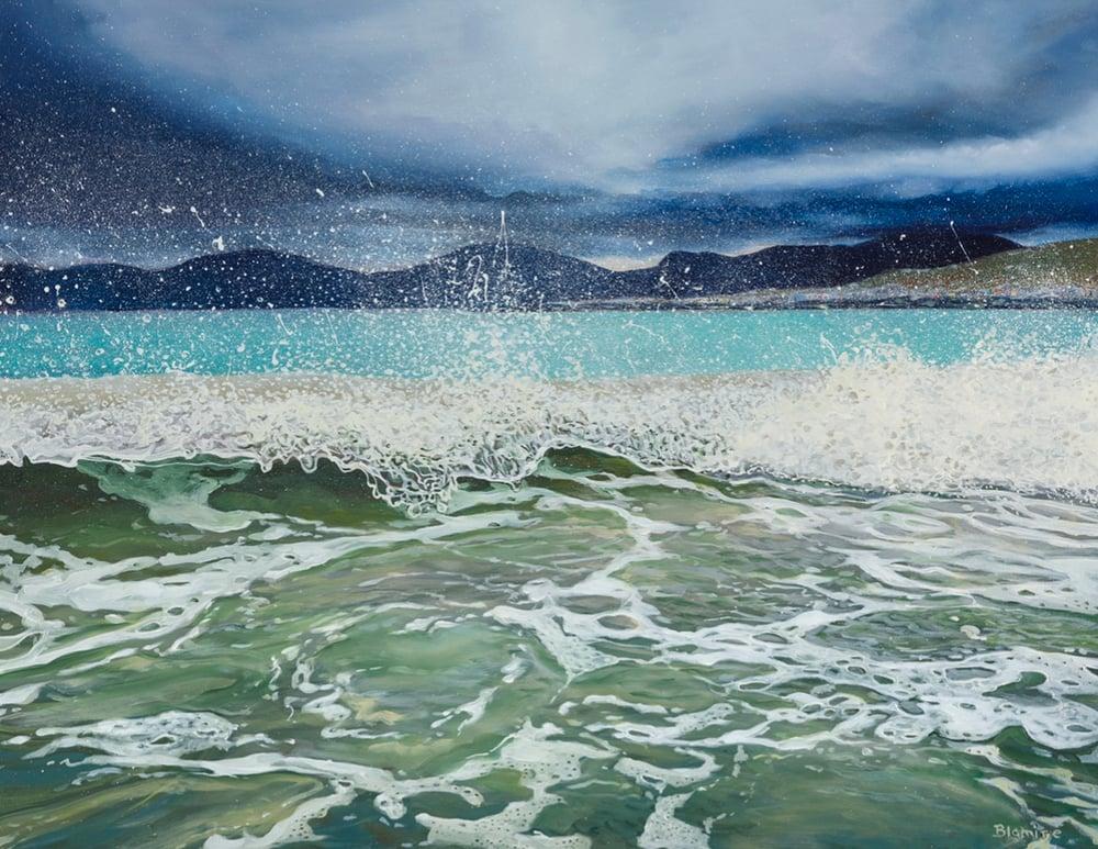 Image of Luskentyre spray Harris giclee print