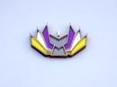 Image 1 of Nonbinary Pride Kitsune Necklace