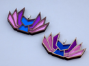Image 1 of Bisexual Pride Kitsune Necklace