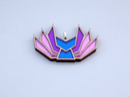 Image 2 of Bisexual Pride Kitsune Necklace