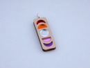 Image 1 of Lesbian Pride Moon Phase Necklace