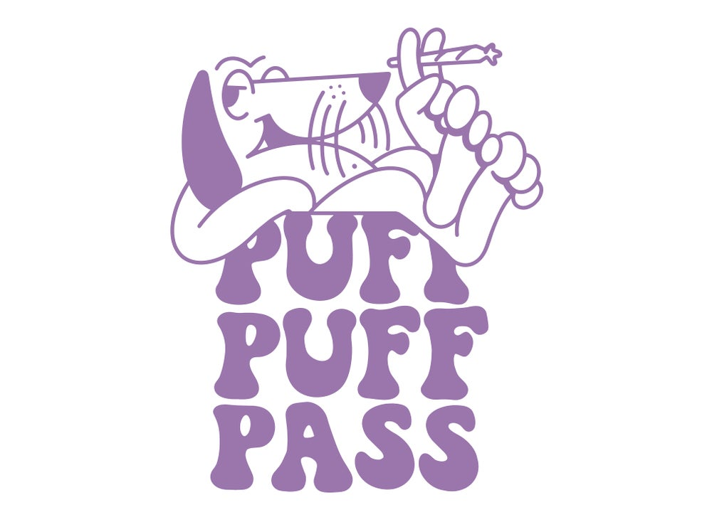 Image of Puff Puff Pass T-shirt