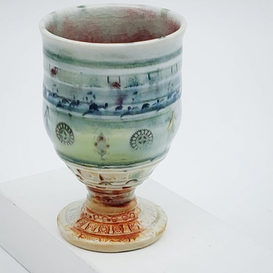 Image of Melody Woodfired Porcelain Small Chalice