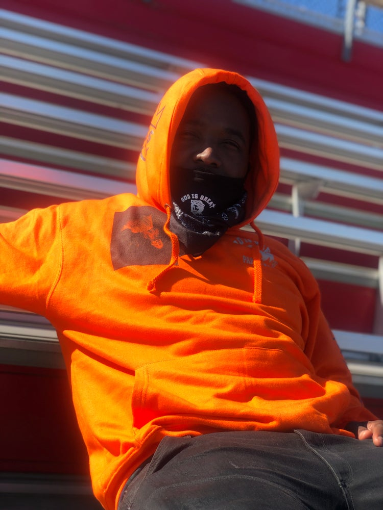 Image of GIGPS SUNKIST ORANGE ALMIGHTY HOODIE