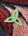Trinity Knot Hard Enamel Pin
