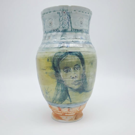 Image of Delft Afternoon  Portrait Vase