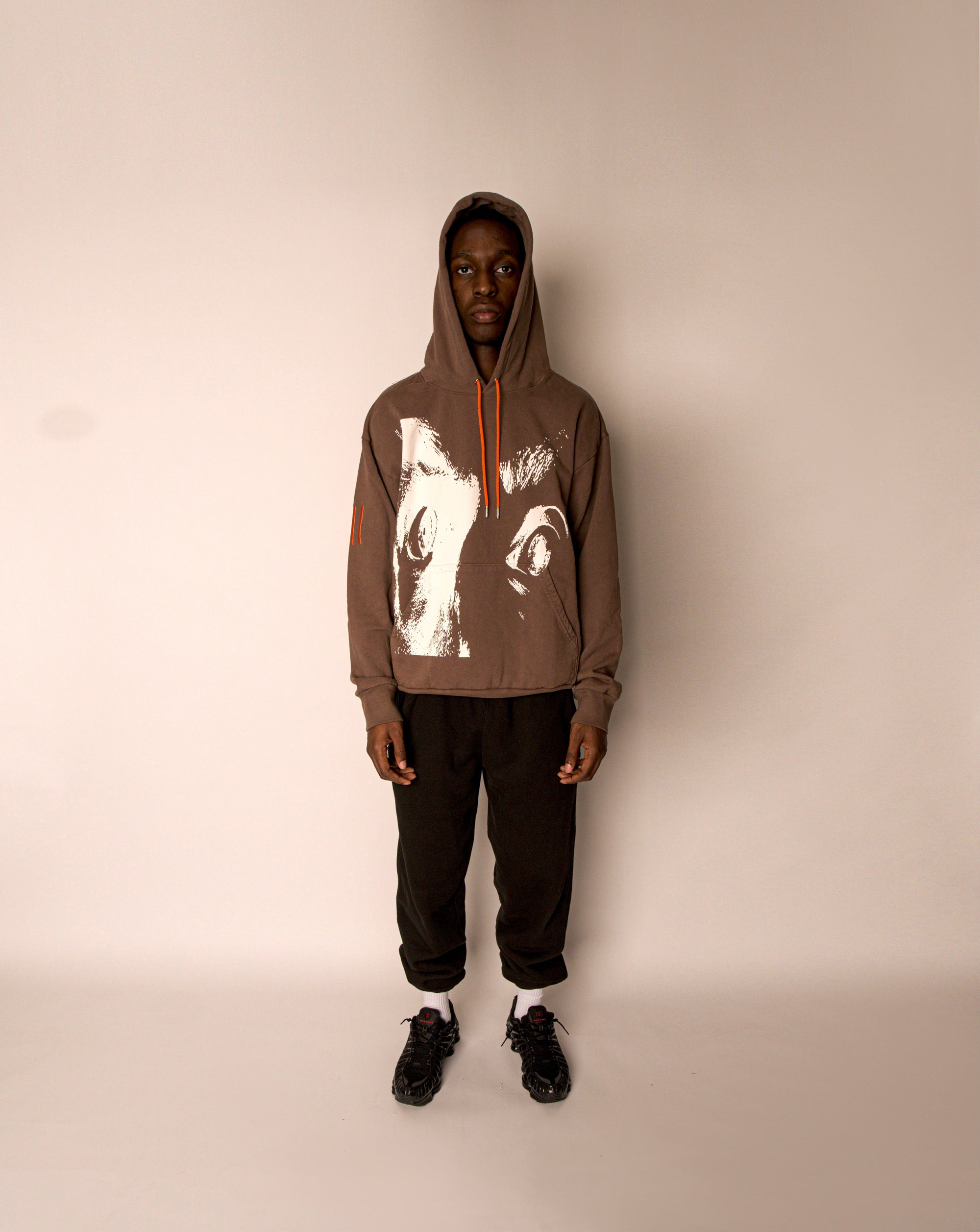 Image of DRD SCREAM HOODIE MOCHA