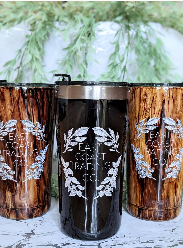 Image of East Coast Trading Co Tumbler by Dawe.Designs x Akala Studios