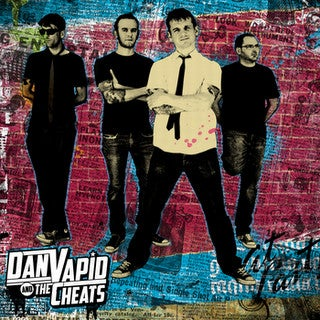 Image of *NEW* Dan Vapid & The Cheats - s/t LP