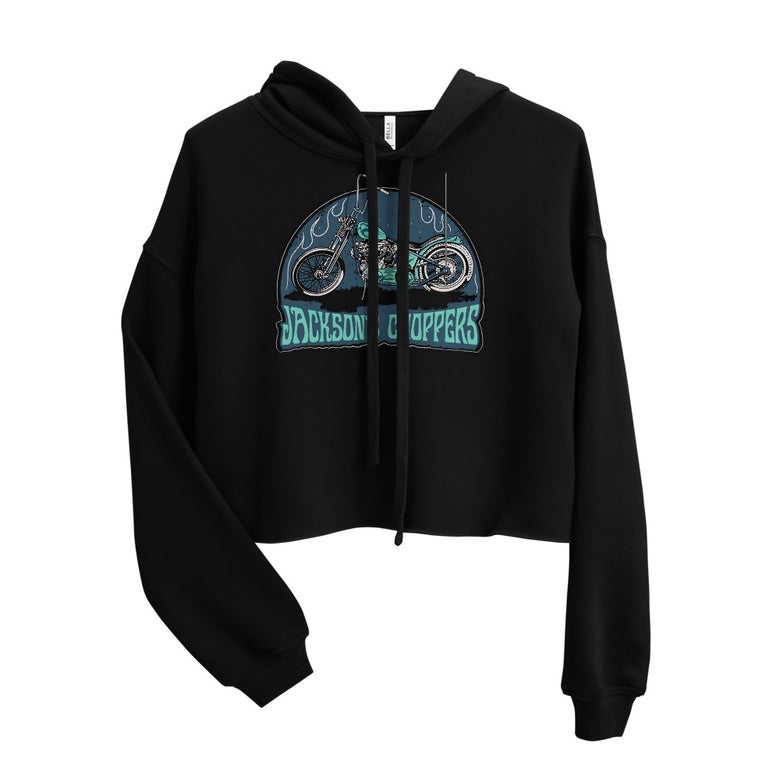 Image of Knucklehead women's crop hoodie