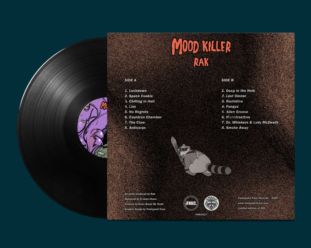 "rak. - Mood Killer (12"" Vinyl)"