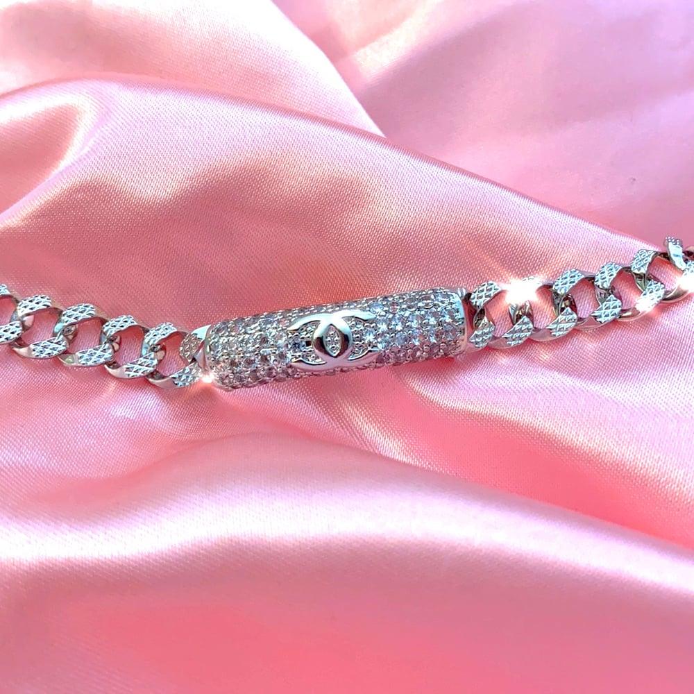 "Image of ""Wifey"" CC Bracelet PLATINUM"