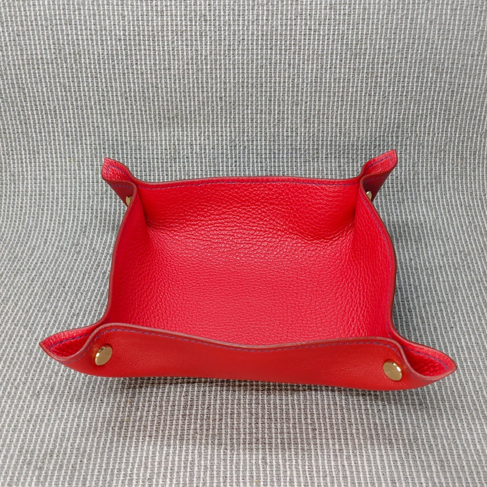 Image of VALET TRAY - Red &