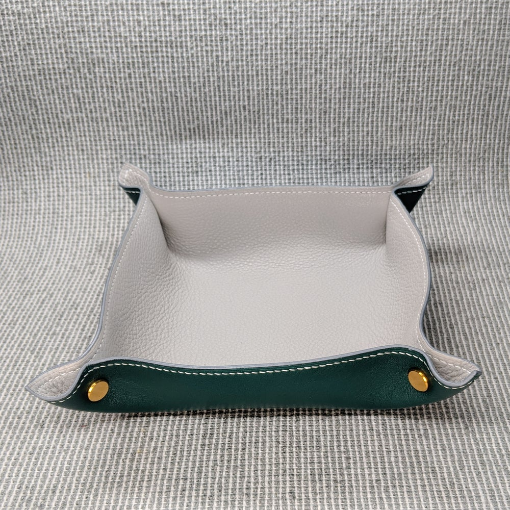 Image of VALET TRAY - Forest & Plaster