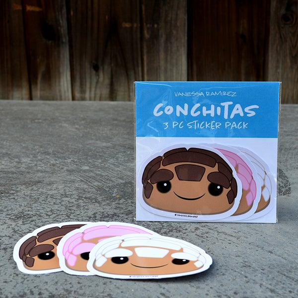 Image of Conchita Sticker Pack