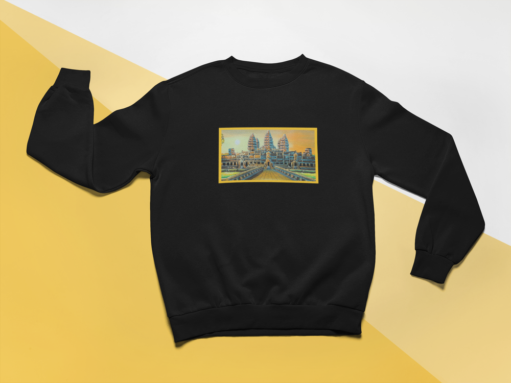 Image of Angkor Wat Crewneck Sweatshirt
