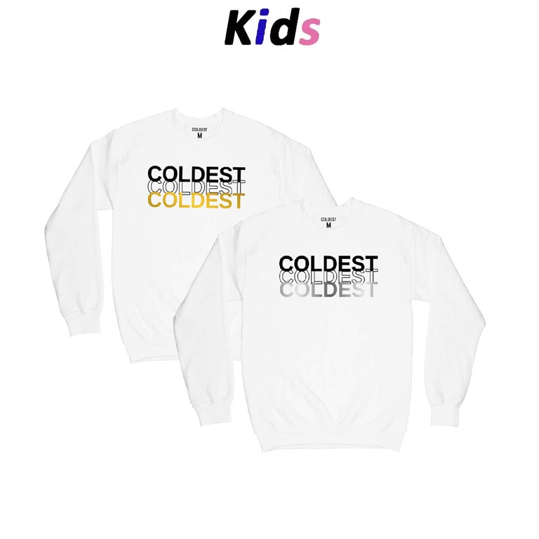 KIDS · METALLIC TRIAD SWEATER