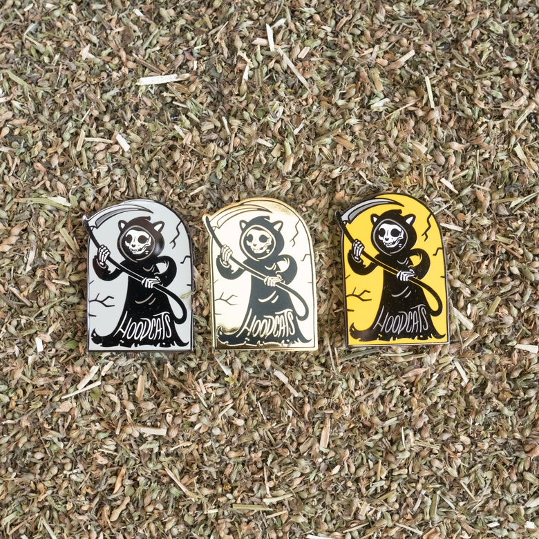 Image of Hoodcats Reaper Pins