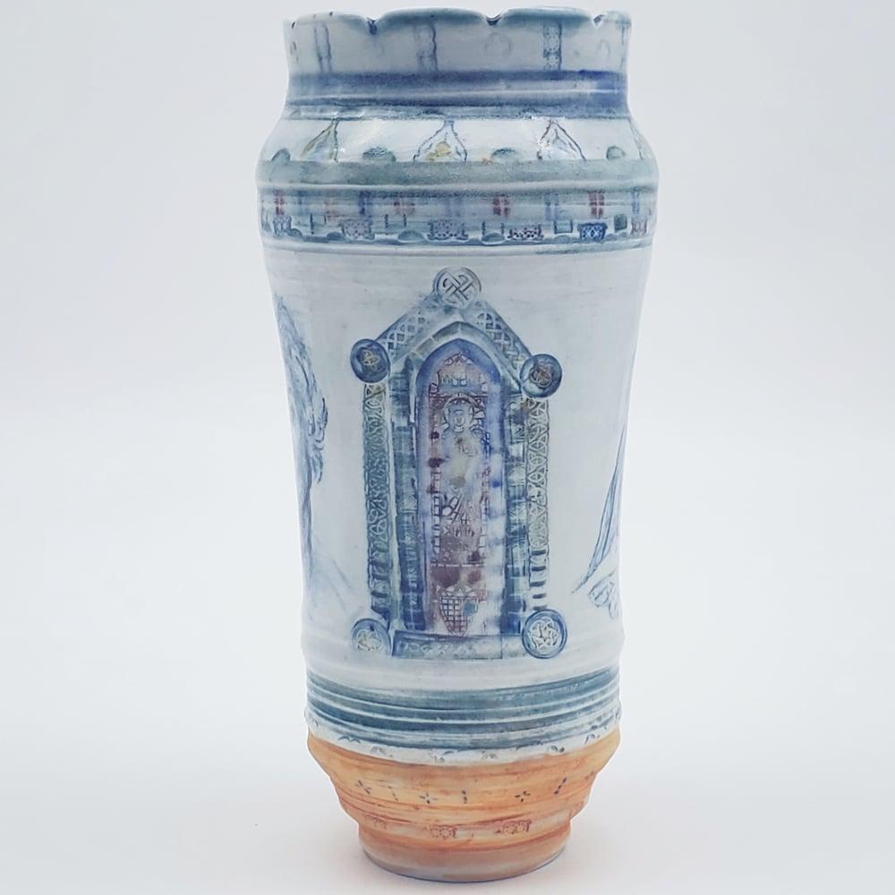 Image of Modena Madonna Porcelain Vase