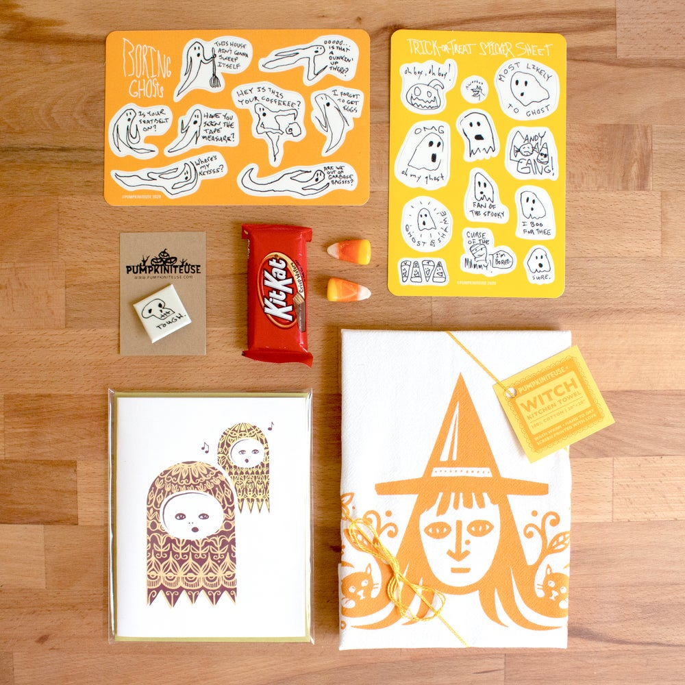 Image of Halloween Trick-or-Treater Box: Haunted Apartment