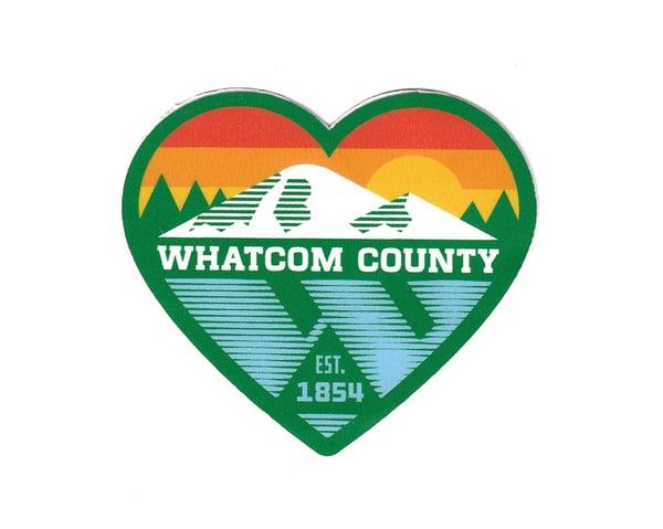Image of Whatcom Sunrise Sticker
