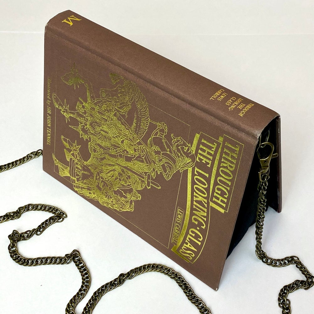 Image of Alice in Wonderland, Through the Looking Glass Book Purse