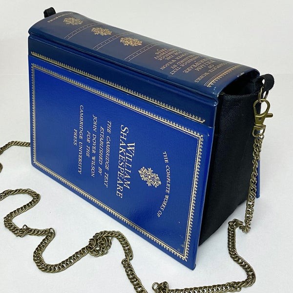 Image of Shakespeare Blue Book Purse