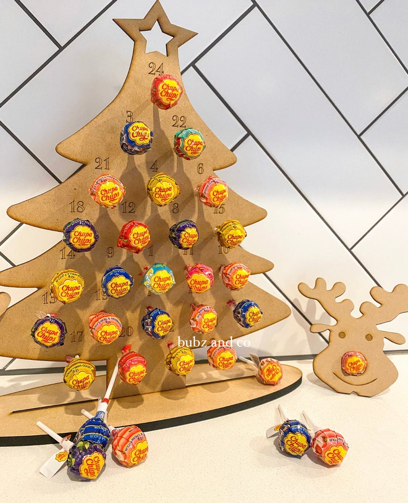 Image of Chupa chup advent calendar