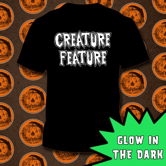 Image of Glow In The Dark Creature Feature Logo T-shirt