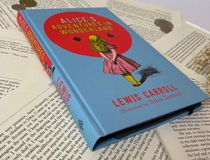 Image of Alice in Wonderland Book Wallet