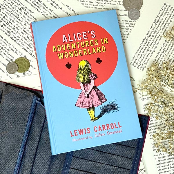 Image of Alice in Wonderland Book Wallet