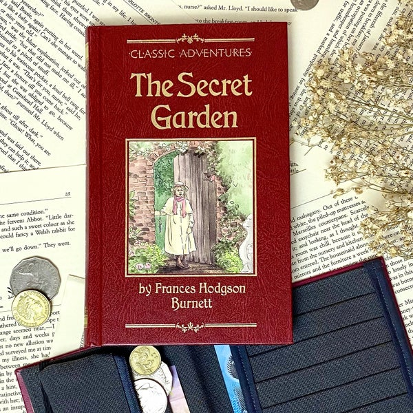 Image of Secret Garden Book Wallet