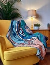 Brigid Of Faughart Throw Blanket