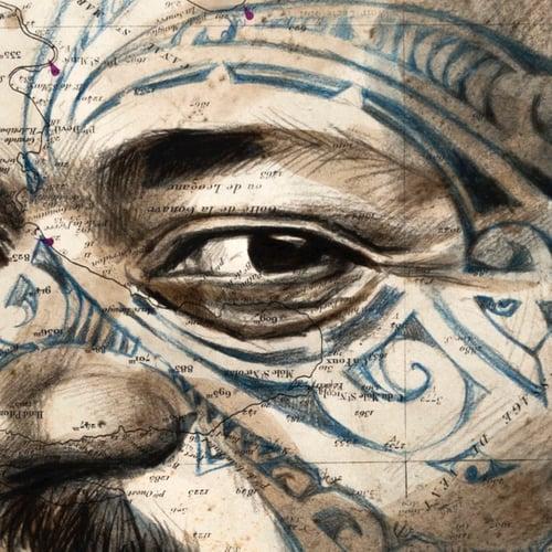 "Image of Canva Art Print - ""Raimoana"""