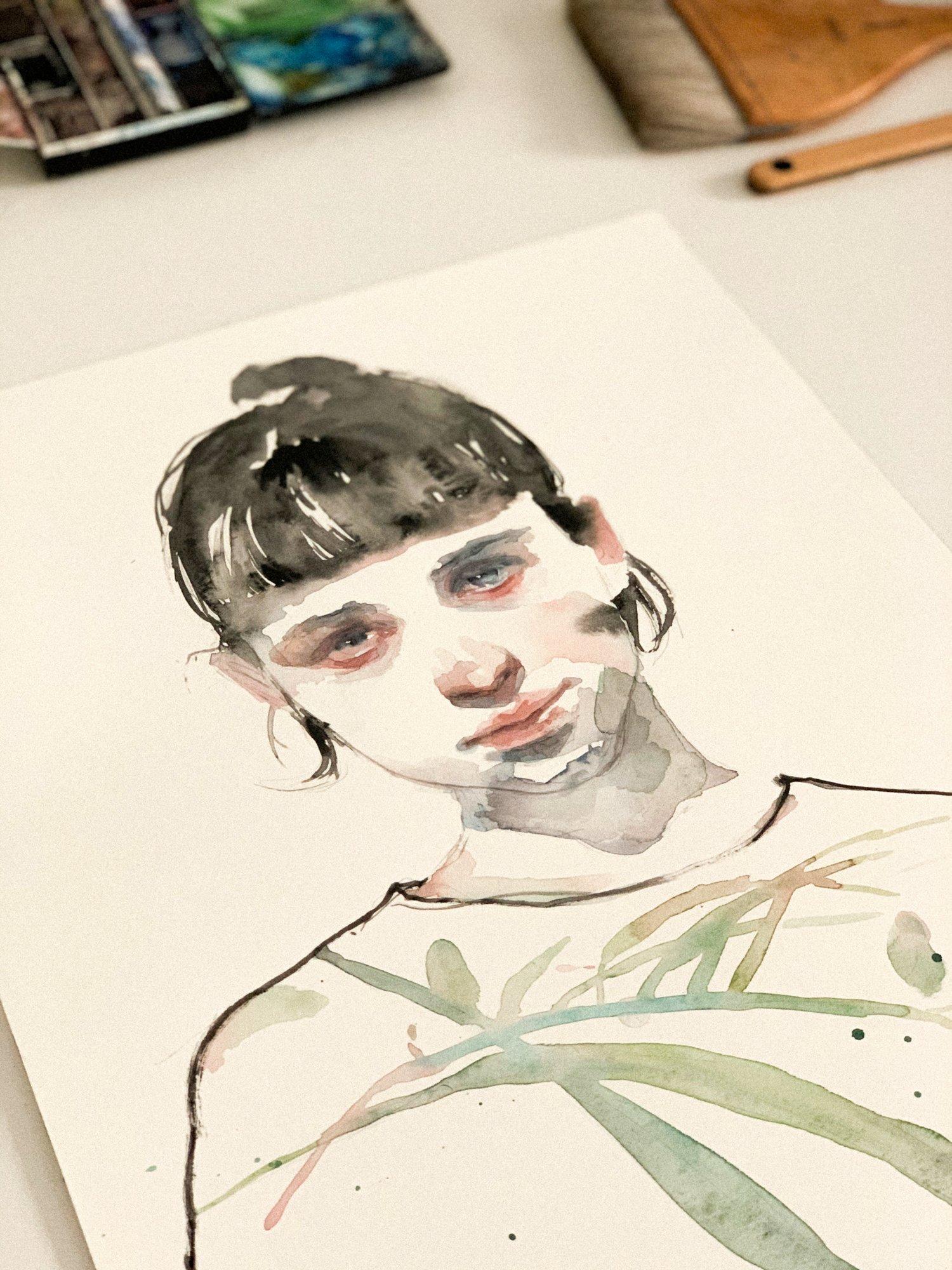Agnes-Cecile studio XLIII