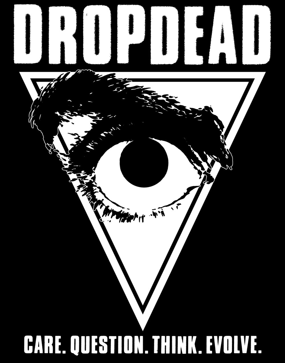 "DROPDEAD ""Care Question / Eye"" Patch"