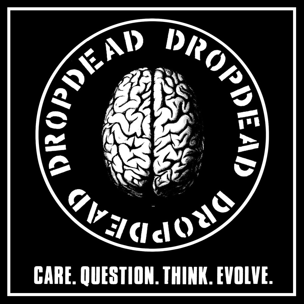 "DROPDEAD ""Care Question / Brain"" Patch"