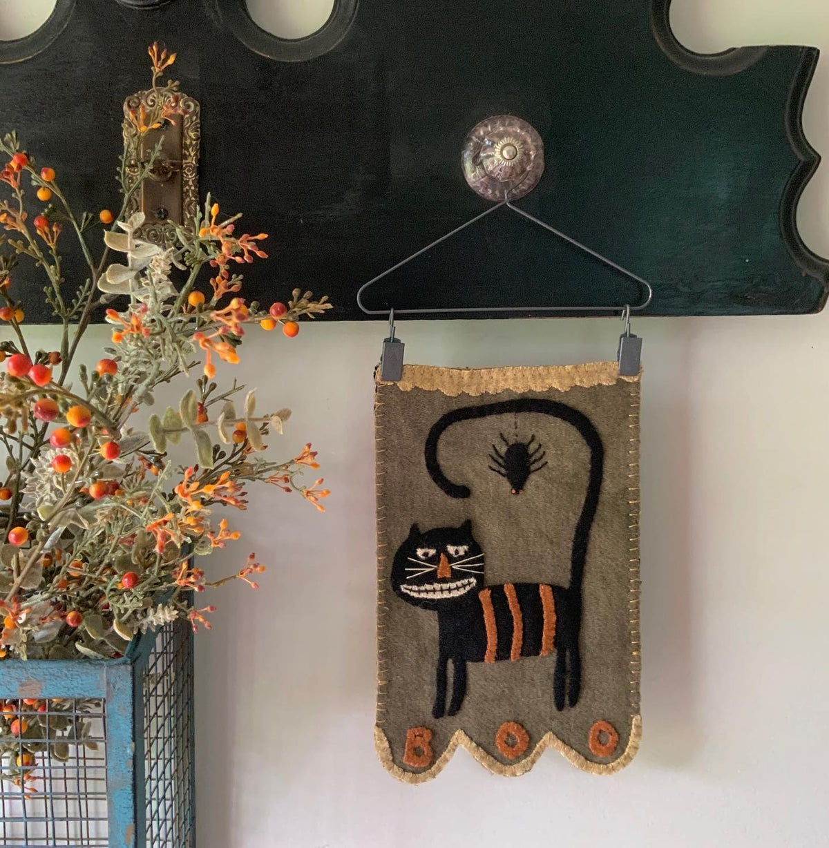 Scaredy Cat Kit and pattern