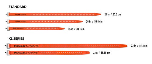 """Image of Voile Straps® - 25"""" Nylon Buckle - Tan"""