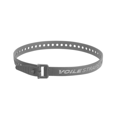 "Image of Voile Straps® - 25"" Nylon Buckle - Grey"