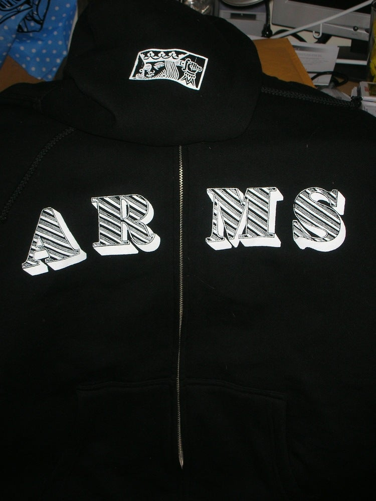 c490c7b6193e Anchorless Records — The Lawrence Arms Zip Up HOODIE 10 yr Anniversary