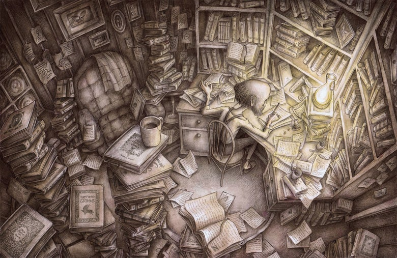 Image of 'The Study' by Adam Oehlers