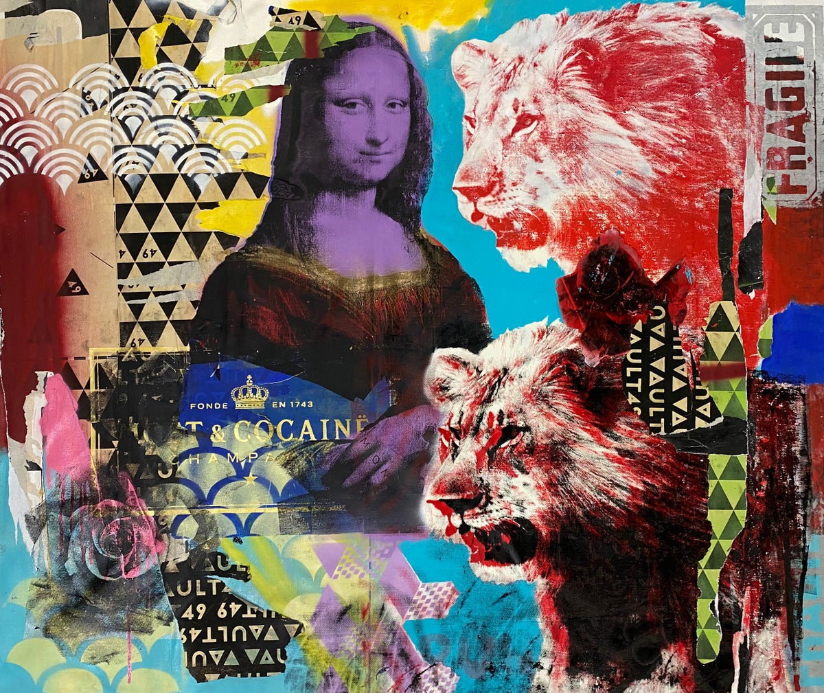 Image of Mona & Lions (Keep your Lions away)